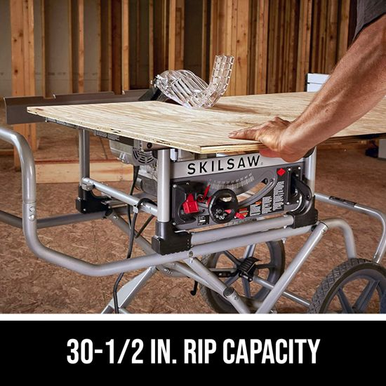 30-1/2 In. rip capacity