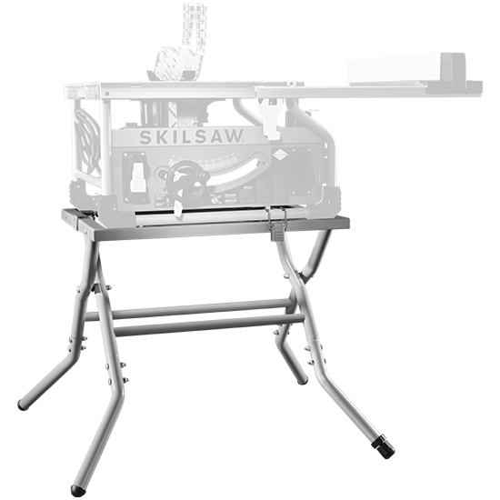 Portable Jobsite Worm Drive Table Saw Stand