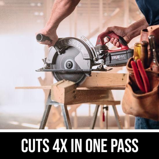 Cuts 4X in one pass