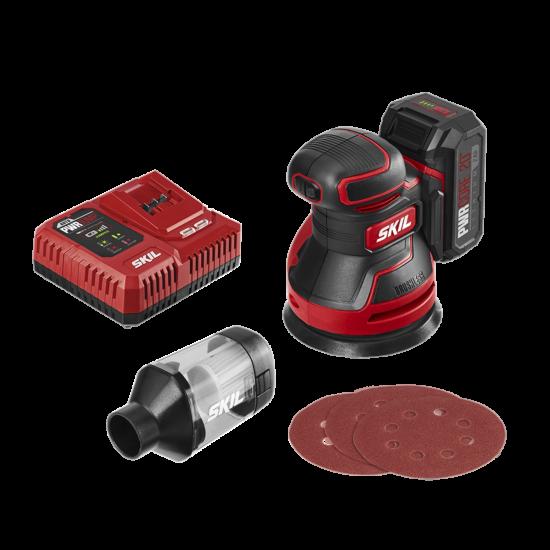 PWR CORE 20™ Brushless 20V Random Orbital Sander Kit