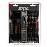 44 Piece Drilling and Screw Driving Kit with Bit Grip