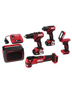 PWRCore 12™ Brushless 12V 5-Tool Combo Kit