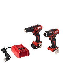 PWRCore 12™ Brushless 12V Drill Driver & Impact Driver Kit