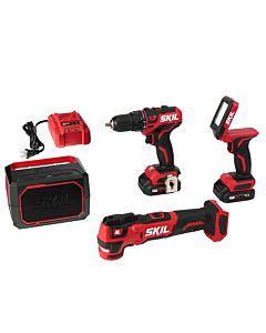 PWRCore 12™ Brushless 12V 4-Tool Combo Kit