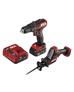 PWR CORE 12™ Brushless 12V Drill Driver and Reciprocating Saw Kit with PWR JUMP™ Charger