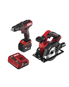 PWR CORE 12™ Brushless 12V Drill Driver and Circular Saw Kit with PWR JUMP™ Charger