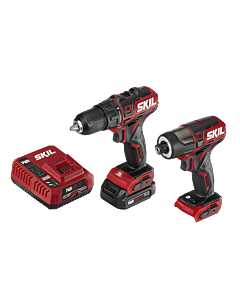 PWR CORE 12™ Brushless 12V Drill Driver & Impact Driver Kit with PWR JUMP™ Charger