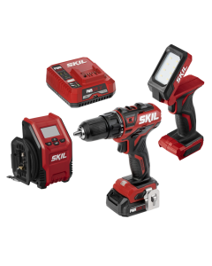 PWR CORE 12™ Brushless 12V 3-Tool Combo Kit with PWR Jump™ Charger