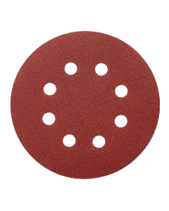 "5"" 8-Hole 60-Grit Orbital Sanding Disc"