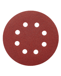 "5"" 8-Hole 80-Grit Orbital Sanding Disc"