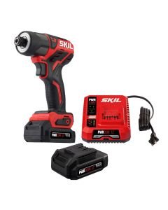 PWR CORE 12™ Brushless 12V 1/4'' Hex Impact Driver with PWR JUMP™ Charger