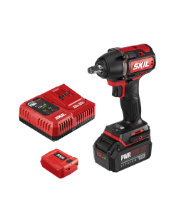 PWR CORE 20™ Brushless 20V 1/2'' Impact Wrench Kit with 5.0Ah Battery and PWR ASSIST™ USB Adapter