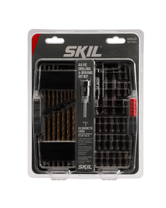 44pc Drilling and Screw Driving Kit with Bit Grip