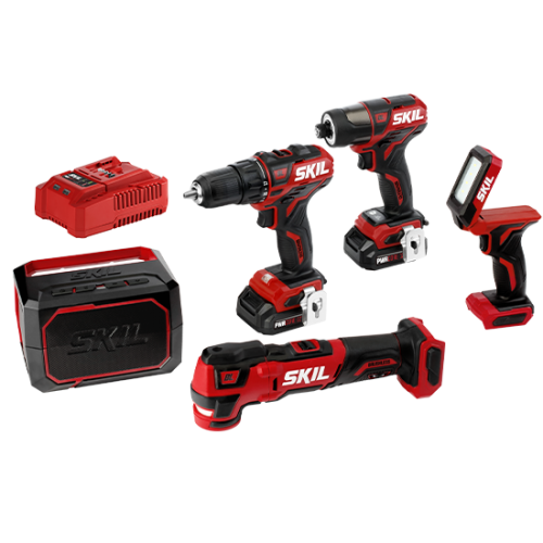 PWR CORE 12™ Brushless 12V  5-Tool Combo Kit