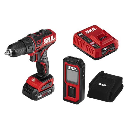 PWR CORE 12™ Brushless 12V 1/2 IN. Drill Driver & Laser Measurer Kit