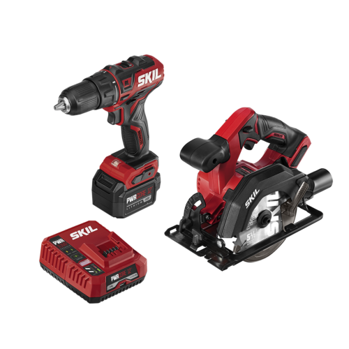 PWR CORE 12™ Brushless 12V Drill Driver & Circular Saw Kit