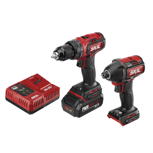 PWR Core 20™ Brushless 20V Drill Driver & Impact Driver Kit