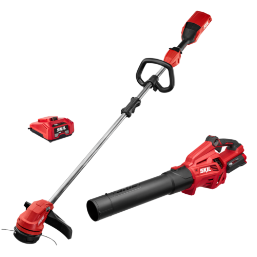 PWR CORE 40™ Brushless 40V 14 IN. String Trimmer & Leaf Blower Combo Kit