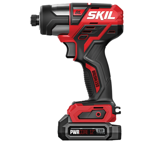 PWR CORE 12™ Brushless 12V 1/4 IN. Hex Impact Driver Kit