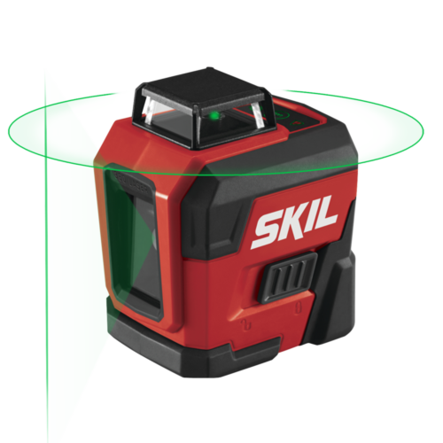 Self-Leveling 360 Degree Green Cross Line Laser with Tripod