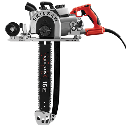 16 In. Worm Drive Carpentry Chainsaw