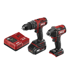 Pwrcore 20 Brushless 20v Drill Driver Impact Driver Kit With Pwrjump Charger
