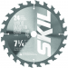 7-1/4-Inch 24-Tooth Carbide Tipped Saw Blade