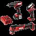 PWR CORE 12™ Brushless 12V 3-Tool Combo Kit
