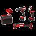 PWR CORE 12™ Brushless 12V 4-Tool Combo Kit