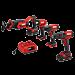 20V 4-Tool Combo Kit; Drill Driver, Impact Driver, Reciprocating Saw, Spot Light
