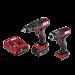 PWR CORE 12™ Brushless 12V Drill Driver & Impact Driver Kit