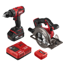 PWRCore 20™ Brushless 20V  Drill Driver and Circular Saw Kit with 4.0Ah Battery