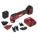 PWRCore 12™ Brushless 12V Oscillating Multi-Tool Kit with PWRJump™ Charger