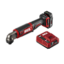 PWR CORE 12™ Brushless 12V 1/4'' Hex Right Angle Impact Driver with PWR JUMP™ Charger