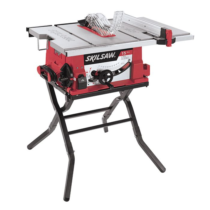 10 In. Table Saw with Folding Stand