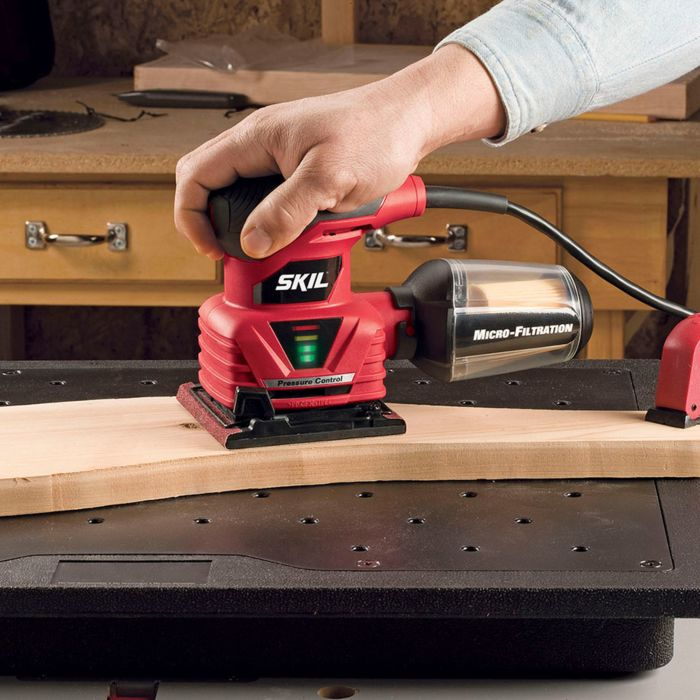 1/4 Sheet Sander with Pressure Control