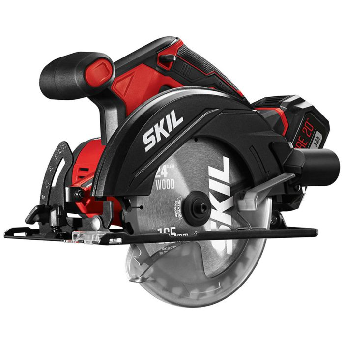 20V 6-1/2'' Circular Saw Kit with PWR Core 20™ 5.0Ah Lithium Battery