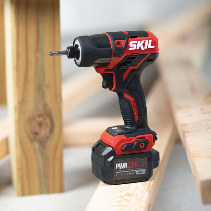 PWR CORE 12™ Brushless 12V 1/4'' Hex Impact Driver