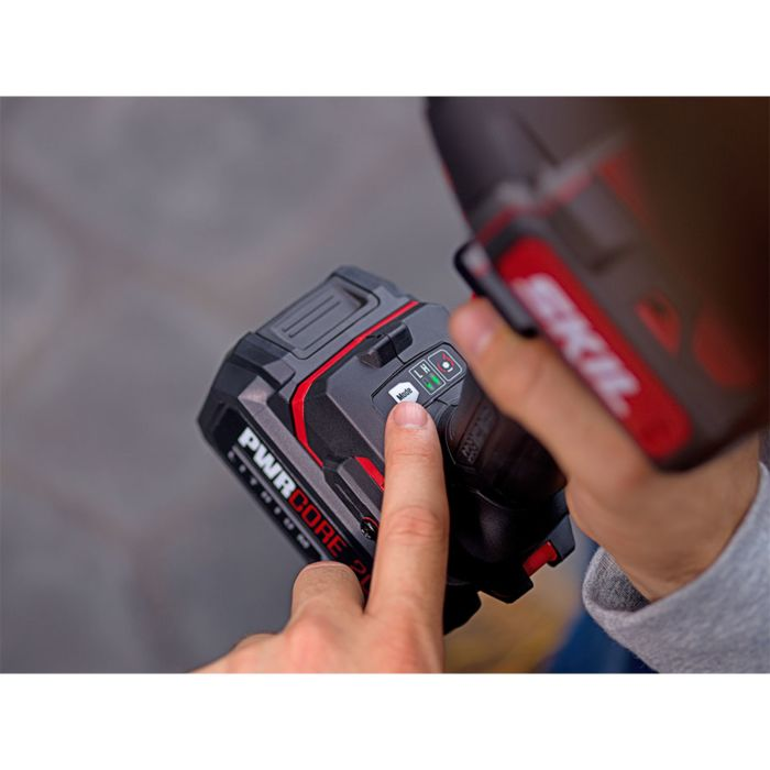 PWRCore 20™ Brushless 20V 1/2'' Impact Wrench Kit with 5.0Ah Battery and PWRAssist™ USB Adapter