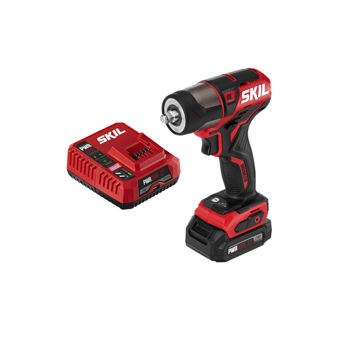 PWR CORE 12™ Brushless 12V 3/8'' Impact Wrench with PWR JUMP™ Charger