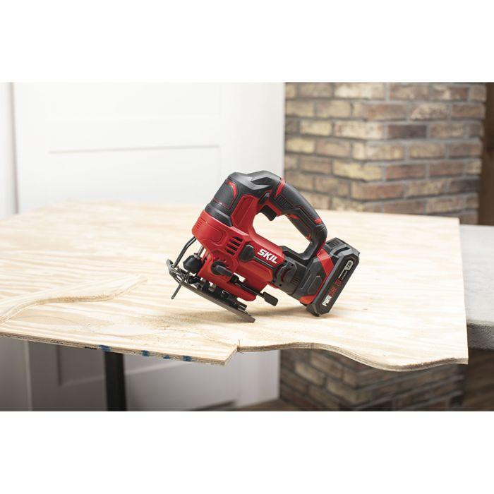 20V 7/8'' Stroke Length Jigsaw, Tool Only