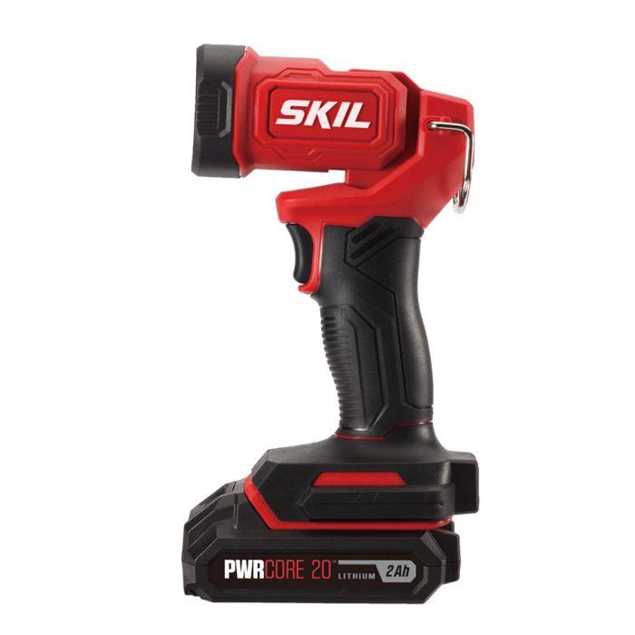 20V 4-Tool Kit: Drill Driver, Reciprocating Saw, Circular Saw, Spot Light, Two PWR Core 20™ 2.0Ah Batteries