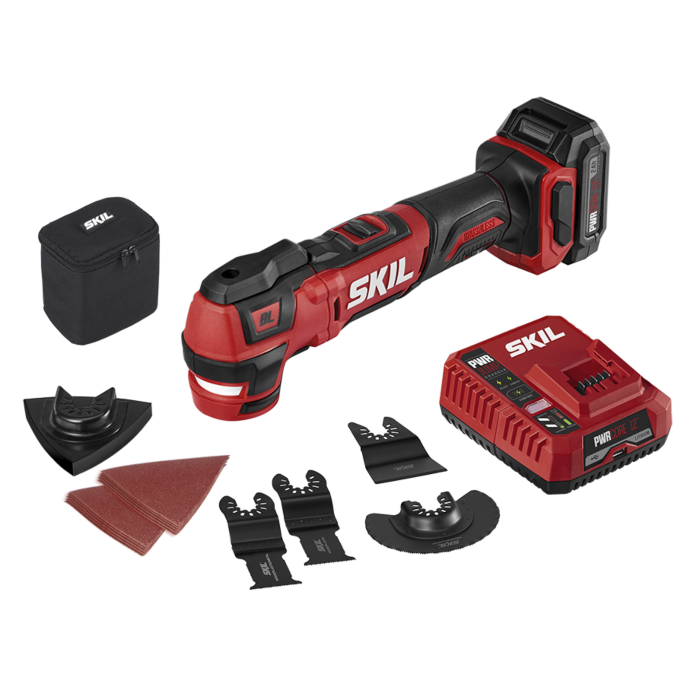 PWR CORE 12™ Brushless 12V Oscillating Multi-Tool Kit with PWR JUMP™ Charger