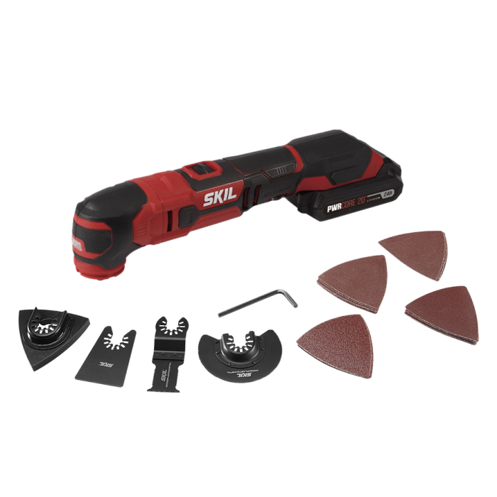 20V Oscillating Multi-Tool Kit with PWR CORE 20™ 2.0Ah Lithium Battery