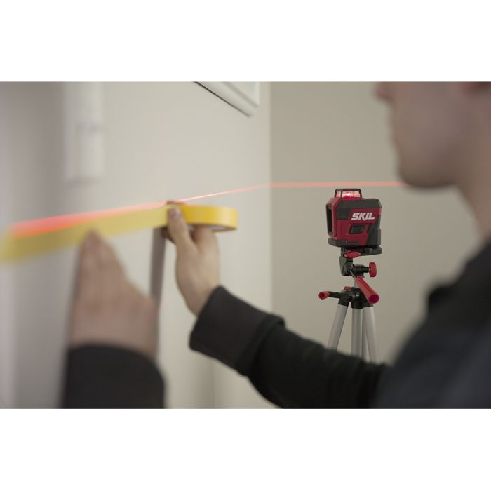 Self-leveling 360 Degree Red Cross Line Laser