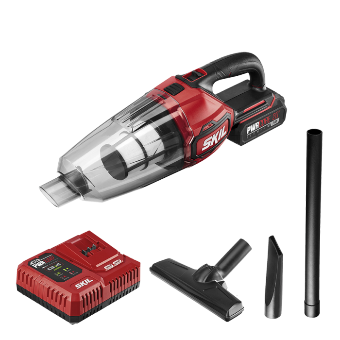 PWRCore 20™ 20V Vacuum with PWRJUMP™ Charger