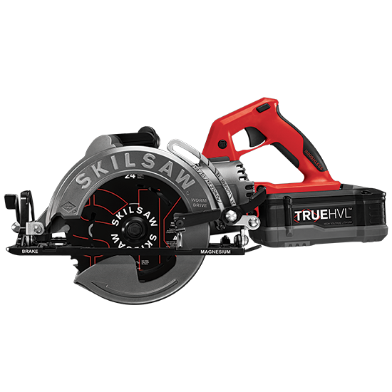 7-1/4 IN. TRUEHVL™ CORDLESS WORM DRIVE SKILSAW