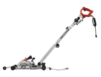 7 In. MEDUSAW™ Walk Behind Worm Drive for Concrete