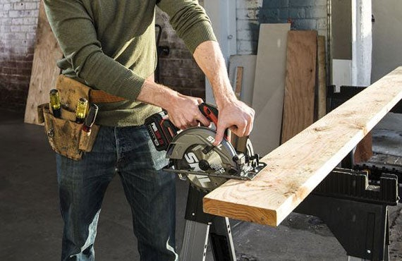 """Brushless 20V 6-1/2"""" Circular Saw Kit with 4.0 Ah Lithium Battery and PWRJump™"""