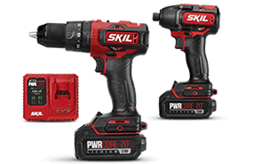 PWRCore 20™ Brushless 20V Heavy Duty Hammer Drill and Impact Driver Kit